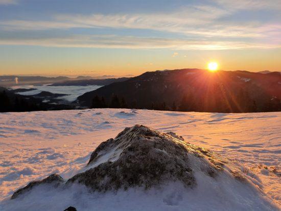 Kašna planina – med luno in soncem